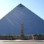The Memphis Pyramid and Bass Pro Shops
