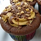 Caramel Toffee Latte Cupcakes