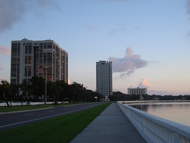 Along Bayshore Boulevard