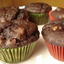 Double Chocolate Chip Muffins….with Banana